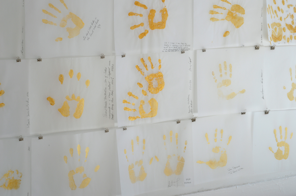 Gold Handprint Project  Gold Handprint Project