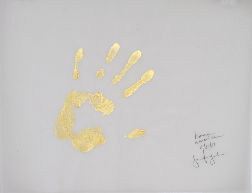 Gold Handprint Project Korean–American