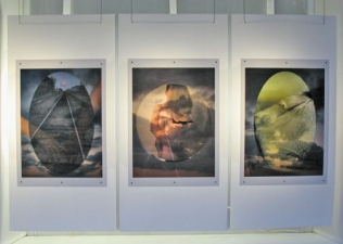 Nicola Woods Illuminated photographs in Roadside Attractions Window Gallery, 2007/2009 Lightjet transparencies