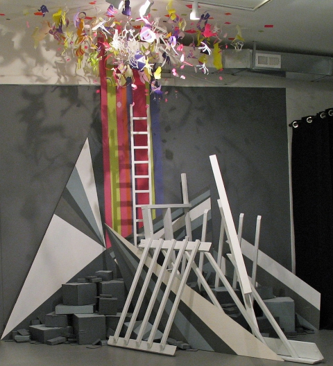 """Site/Schema,"" Civilian Art Projects, 2011 ""Stand"""