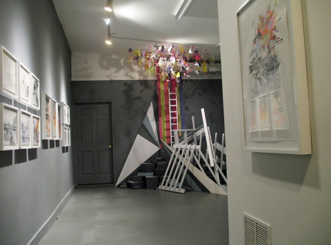 """Site/Schema,"" Civilian Art Projects, 2011  ""Site/Schema,"" Civilian Art Projects, 2011"
