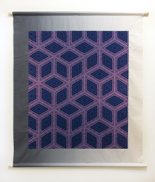NOAH BREUER Carl Breuer and Sons UV-reactive dye on cotton