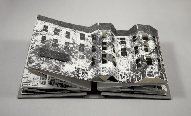 Collapse of the Home Pop-Up Book Rachel Ostrow