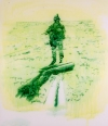 Searching Soldiers Ink on Mylar