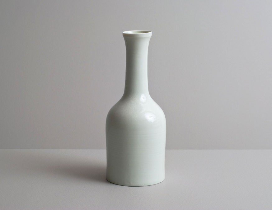 2014 Bottle in celadon glaze