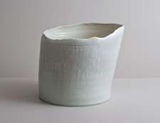 2014 Handbuilt and wheel-thrown porcelain