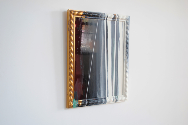 #OLIVIEPONCE  Framed Plexiglass Alkyd enamel on framed plexiglass