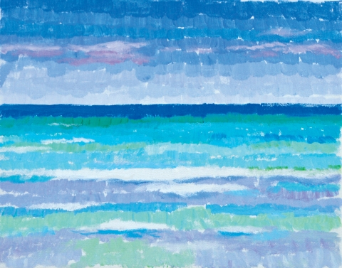 Bradley H. Olsen-Ecker Key West to F. Lauderdale Plein-Air Seascapes Acrylic