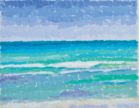 Bradley H. Olsen-Ecker Key West to F. Lauderdale Plein-Air Seascapes Acrylic on linen
