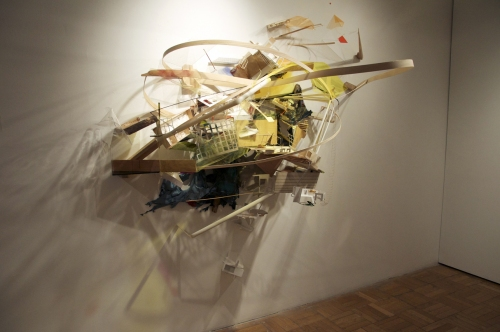 """A Tale in Two Cities"" 2012 Mixed Media Installation"