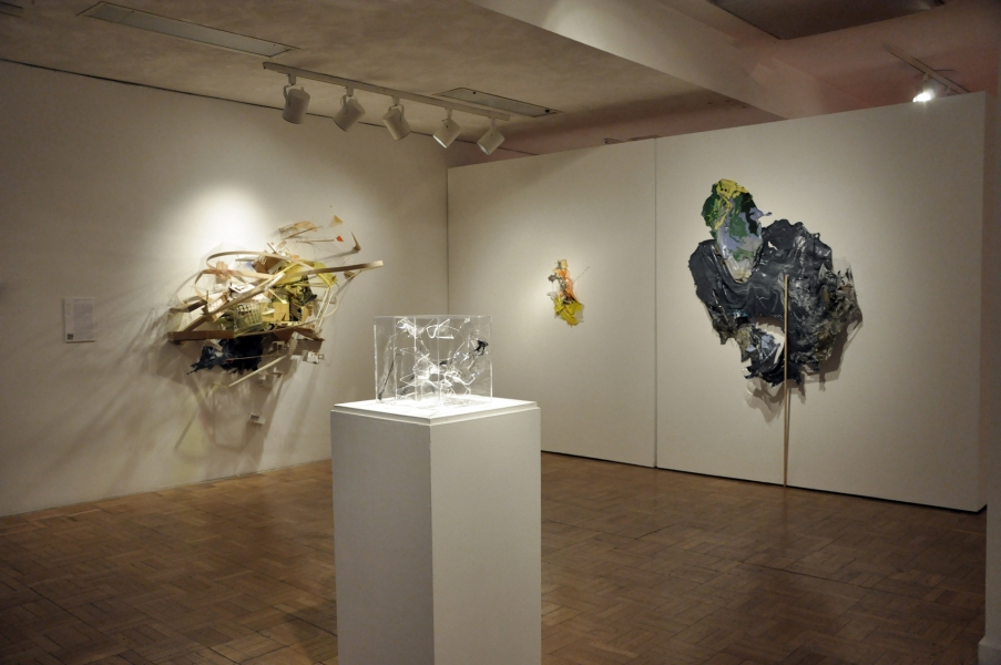 """A Tale in Two Cities"" 2012 Installation shot for the show"
