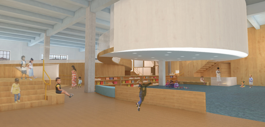 O'Neill McVoy Architects Bronx Children's Museum