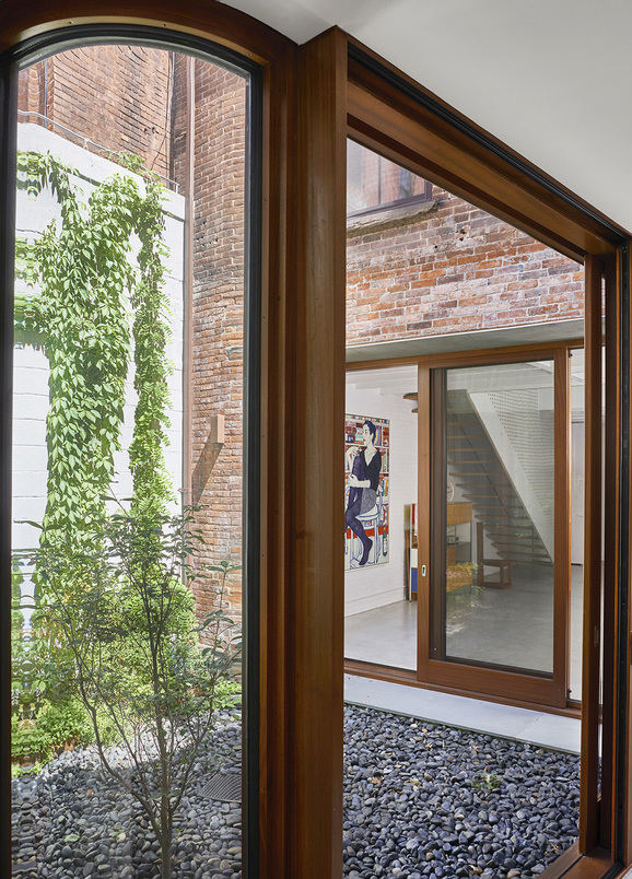 O'Neill McVoy Architects Clinton Hill Courtyard House