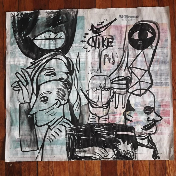 Palette Online ArtSpace Chris Lee: R.I.P. SAMO and Other Stories, The Semiotics of Basquiat Ink, acrylic on gesso'd NY Times