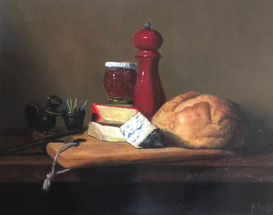 Still Lifes by Marybeth Hucker    5/22-6/15/20 Farmers Market