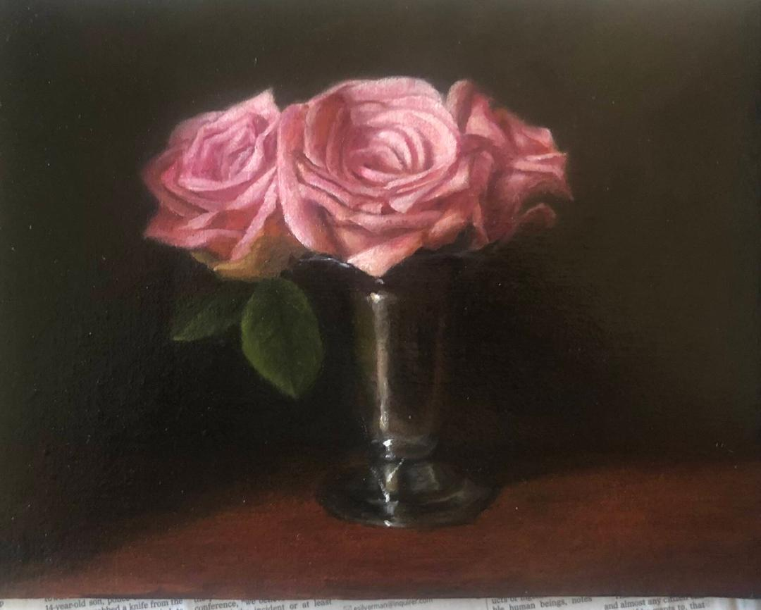 Still Lifes by Marybeth Hucker    5/22-6/15/20 Three Roses