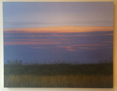 "Palette Gallery ""Landscapes"" by Tim Daly - 2/3-3/18/18 Giclee on canvas"