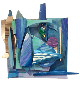 Palette Online ArtSpace 2UP Juried Show  - Mar-Apr 2018 Mixed media