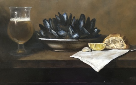 Palette ArtSpace Marybeth Hucker: Still Life Oil on linen