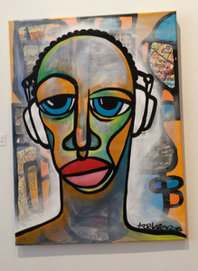 Palette Online ArtSpace Kortez: Faces - (exclusive representation) Mixed media