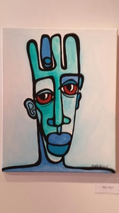 Palette ArtSpace Kortez: Faces - (exclusive representation) Acrylic on canvas