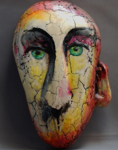 Pamala Crabb 3-D Sculpture Wax and clay