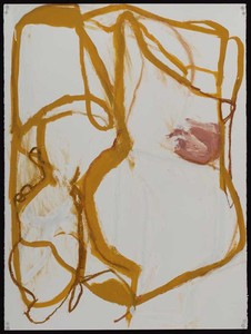 Pam Cardwell Drawing - 2008 - 2011 oil stick, gouache on paper