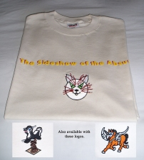 "Pamela Joseph STORE <p><font size=""1"" color=""orange"">  T-shirt: The Sideshow of the Absurd</font></p>"