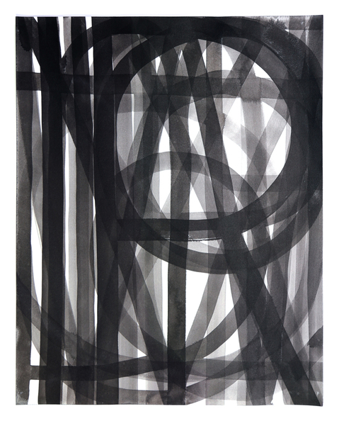 Unalphabetic Sumi ink on paper