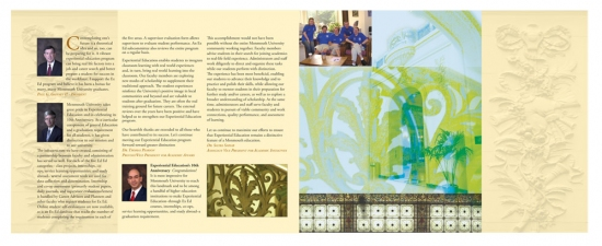 Pat Cresson  + Graphic Design Archives 1980-2013/Ink Illustrations 16 page four color brochure