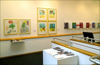 Pat Cresson + Exhibition Gallery Photographs 2000-2016 six intaglio prints with gouache on Rives BFK