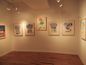 Pat Cresson + Exhibition Gallery Photographs 2000-2018 stencil prints