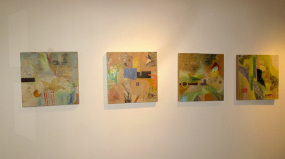 Pat Cresson + Exhibition Gallery Photographs 2000-2016 oil, wax and mixed media on birch panels