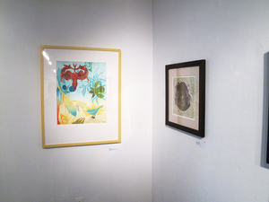 Pat Cresson + Exhibition Gallery Photographs 2000-2018 monoprint on rag paper