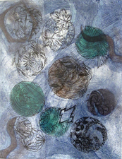Pat Cresson + Recent  Work > Movable Monoprints
