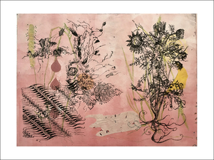 Pat Cresson + Recent  Work > Movable Monoprints c