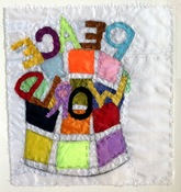 Patricia Dahlman Drawings fabric, thread, pencil on paper