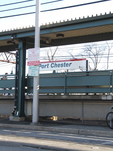 port chester train station