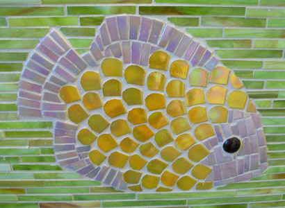 Patricia Rockwood Mosaics: Selected Corporate & Private Commissions Glass tile, glass gem