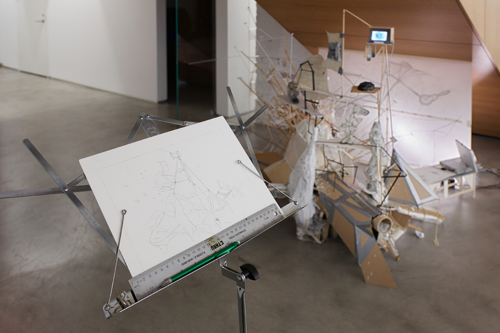 2014 - 2015 After Lebbeus: A Model For Drawing  After Lebbeus, a Model For Drawing