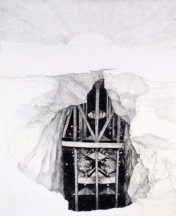 Drawing Chamber for Astral Projection (II)