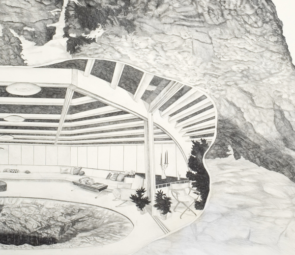 Drawing Observation Deck for Bottomless Pit, detail