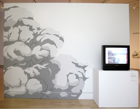 Patte Loper Video  latex on wall, animated video