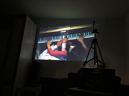 2018 Video Performance Collaboration with Piano Duo 2Squared 2 Squared rehearsal accompanied by Sarah Nicole Phillip's video