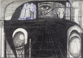Paul Brainard Drawings pen and pencil on paper
