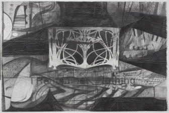 Paul Brainard Drawings pencil on paper