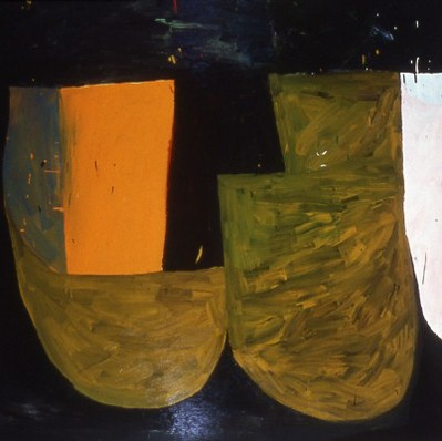 Paul Ryan Selected Early Work: 1987-1994 oil on canvas