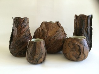 Peggy Thomas                         The Pottery Nature Series Stoneware