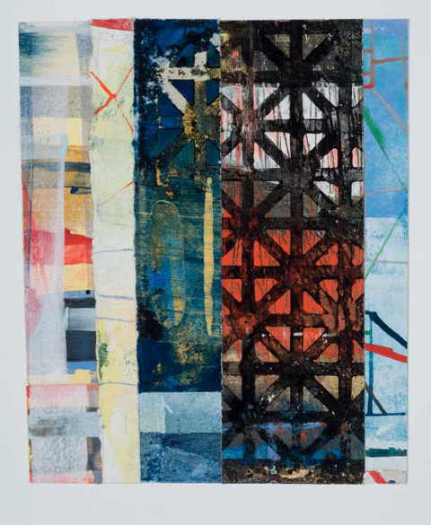 Penelope Jones Collages collage on paper