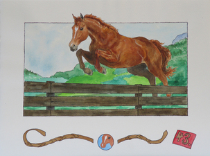 Penelope Bisbee Fire Bush Pony